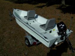 2015 - Stumpnocker Boats - 1230 Skiff Tiller