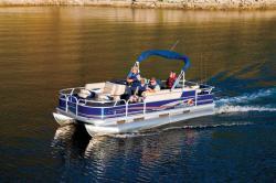2012 - Sun Tracker - Fishin- Barge 20 DLX