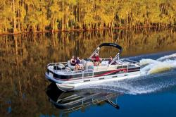 2013 - Sun Tracker - Fishin- Barge 24 DLX