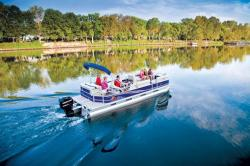 2013 - Sun Tracker - Party Barge 24 DLX