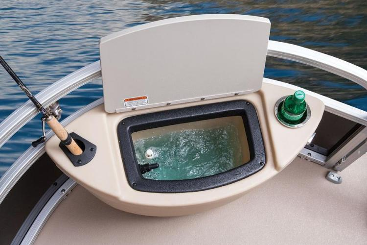 Research 2014 Sun Tracker Fishin Barge 24 Dlx On