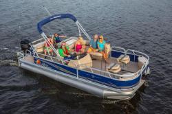 2014 - Sun Tracker - Fishin- Barge 22 DLX