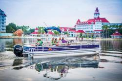 2014 - Sun Tracker - Fishin- Barge 24 DLX