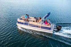 2014 - Sun Tracker - Party Barge 22 DLX
