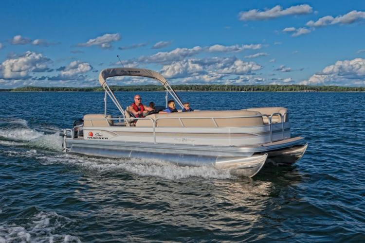 Research 2015 Sun Tracker Party Barge 24 Dlx On Iboats Com
