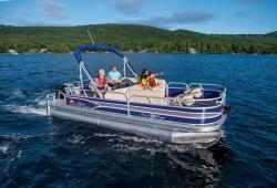 2015 - Sun Tracker - Fishin- Barge 20 DLX