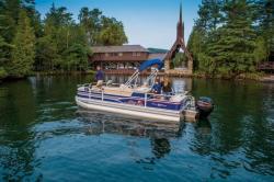 2015 - Sun Tracker - Fishin- Barge 22 DLX