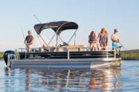2017 - Sun Tracker - Fishin- Barge 20 DLX