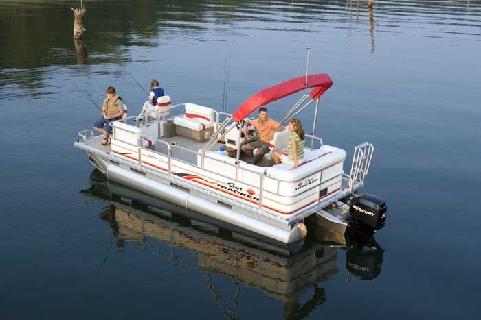 research sun tracker party barge 20 signature pontoon boat