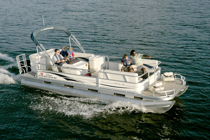Sun Tracker Pontoon Boats >> Research Sun Tracker Party Barge 24 Signature Pontoon Boat