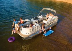 Sun Tracker PARTY BARGE 25 Regency Edition Pontoon Boat