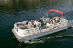 Sun Tracker PARTY BARGE 25 XP3 Regency Edition Pontoon Boat