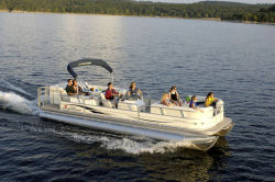 Sun Tracker PARTY BARGE 27 Regency Edition Pontoon Boat