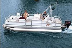 Sunset Bay Pontoon 19 Basic Pontoon Boat