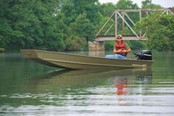 2010 - Tracker Boats - Topper 1542 LW Riveted Jon