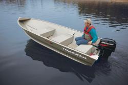 2011 - Tracker Boats - Guide V-14 Riveted Deep V