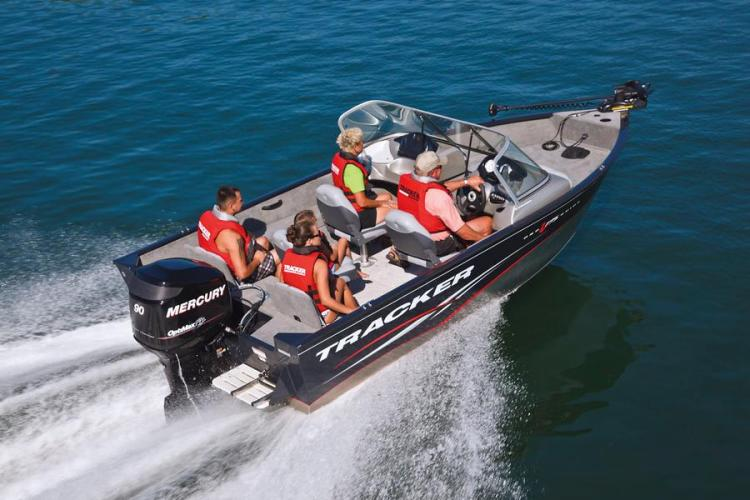 Research 2012 Tracker Boats Pro Guide V 175 Combo On