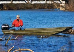 2013 - Tracker Boats - Topper 1436 Riveted Jon