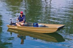 2014 - Tracker Boats - Topper 1232 Riveted Jon