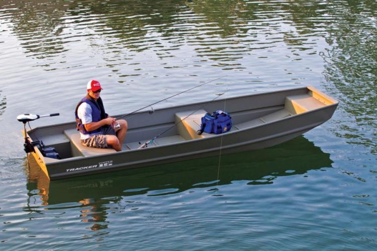 Research 2015 - Tracker Boats - Topper 1542 LW Riveted Jon