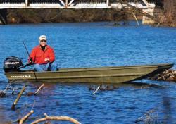 2015 - Tracker Boats - Topper 1436 Riveted Jon