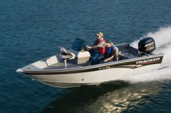 Tracker Boats Super Guide V-16 DLX SC Multi-Species Fishing Boat