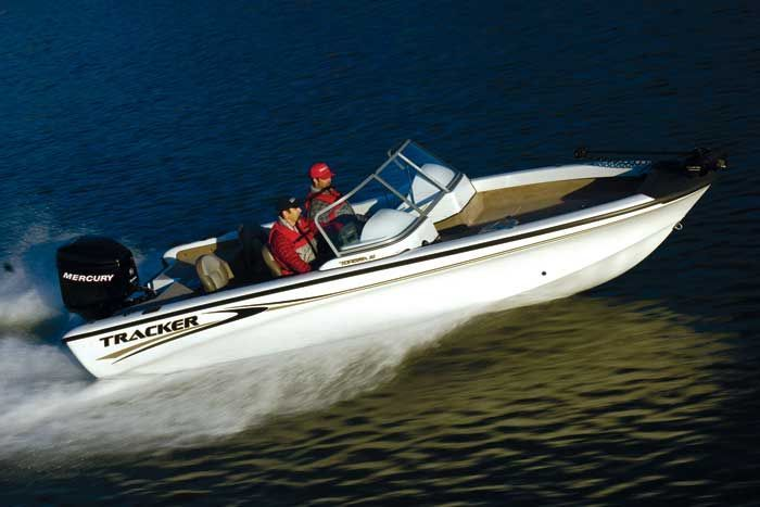 Research Tracker Boats Tundra 21 Wt Multi Species Fishing Boat On