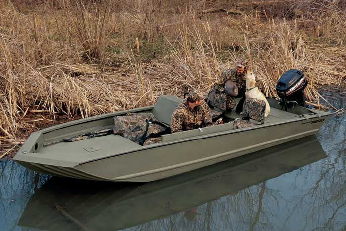 Research Tracker Boats Grizzly 1754 AW Jon Boat on iboats com