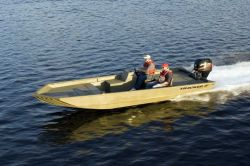 Tracker Boats Grizzly 2072 SC Big Cat Jon Boat