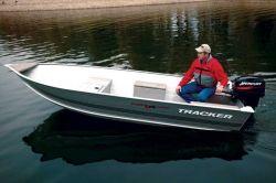 Tracker Boats Guide V14 Laker Riveted Deep V Utility Boat
