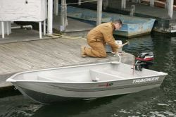 Tracker Boats Guide V12 Riveted Deep V Utility Boat