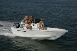 Triumph Boats 150CC Center Console Boat