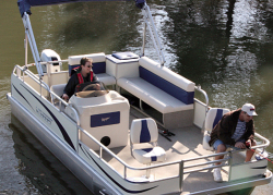 2015 - Voyager Boats - 20- Drifter Cruise