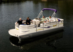 Voyager 16 Sport Cruise Deluxe Pontoon Boat