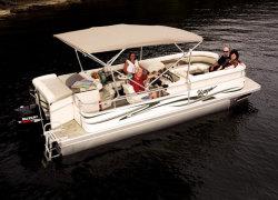 Voyager 22 Express Cruise Elite Pontoon Boat