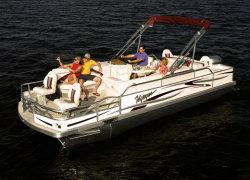 Voyager 22 Express Fish  Cruise Pontoon Boat