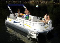 Voyager 19 Express Ski Pontoon Boat