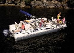Voyager 25 Super Fish Pontoon Boat