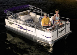 Voyager VF14 14X16 Venture Fish Pontoon Boat