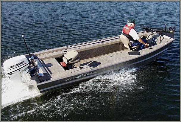 Research 2012 War Eagle Boats 754 Vs On Iboats Com