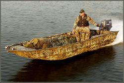 War Eagle Boats 648LDSV Hunting and Duck Boat