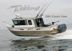 2010 - Weldcraft Boats - 260XL Cuddy King