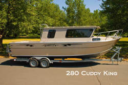 2012 - Weldcraft Boats - 280 Cuddy Cabin