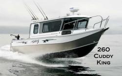 2017 - Weldcraft Boats - 260 Cuddy King