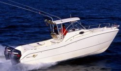 World Cat Boats 270SC Sport Cabin Walkaround Boat