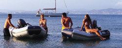 2019 - Zodiac Boats - 285 Cadet Fastroller PVC