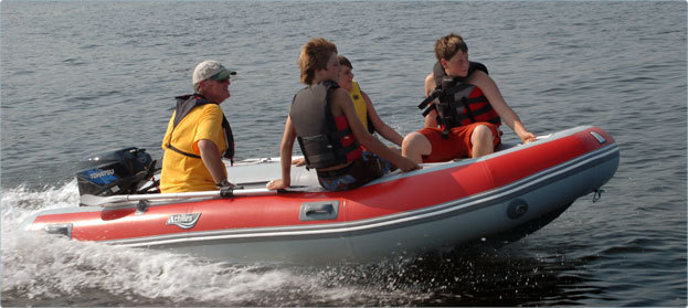 Research 2012 - Achilles Inflatable Boats - LSI-365 on
