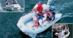 Achilles Inflatable Boats LSR-96 Inflatable Boat
