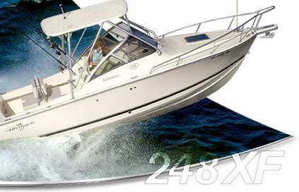 Research Albemarle Boats 248 XF Express Fisherman Boat on iboats com