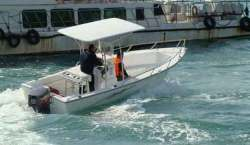 2015 - Allmand - 20 Center Console Open Fisherman
